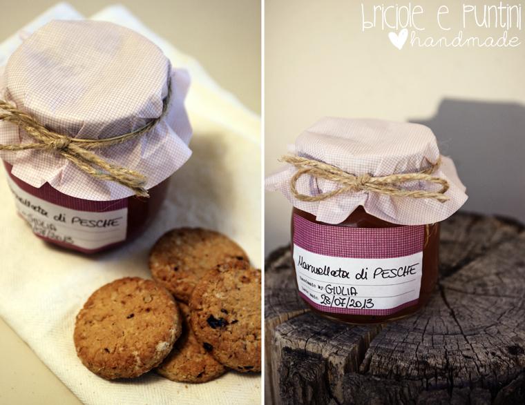 Come confezionare i barattoli di marmellata briciole e - Come decorare un barattolo ...