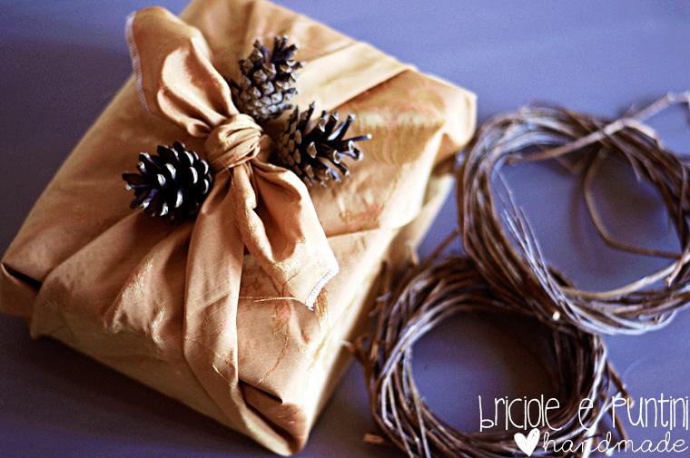 Estremamente Furoshiki: come incartare i regali con la stoffa - tutorial YI21