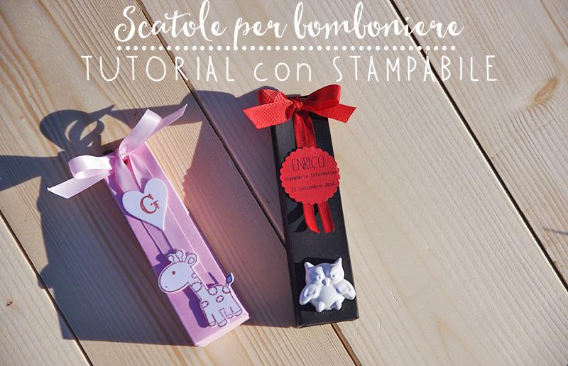 Tutorial con schema pdf scatoline allungate per bomboniere - Costruire un portagioie ...