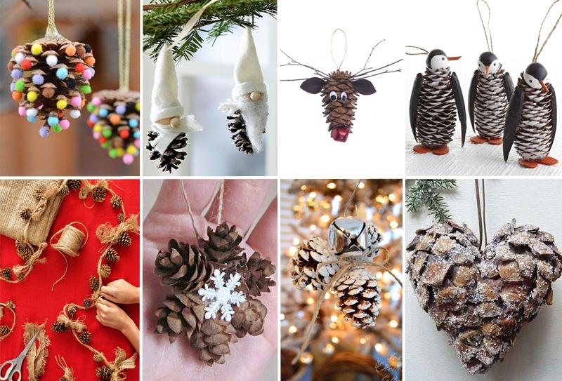 Decorazioni Natalizie Con Le Pigne.Natale Con Le Pigne Ecco 30 Idee Di Riuso Creativo Davvero Fantastiche