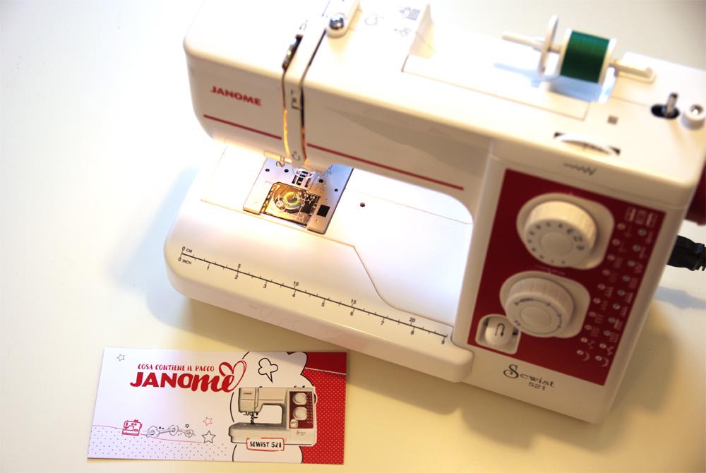 Sewist521: la mia macchina da cucire per il progetto JanoME
